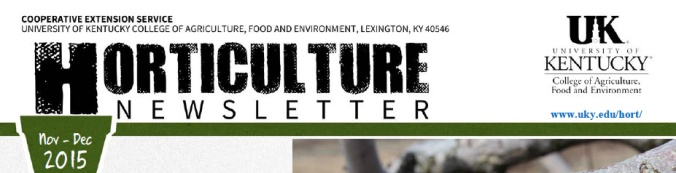 Winter KY Horticulture News