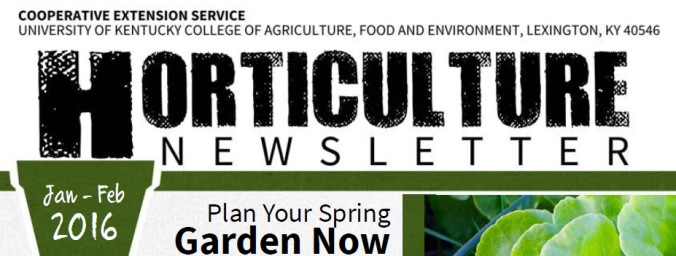 KY horticulture news