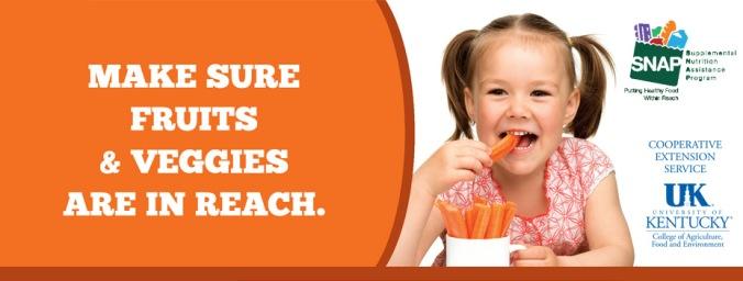 veggies as kids snack