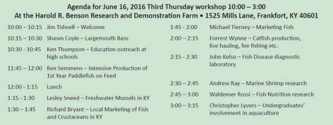 aquaculture-workshop-schedule