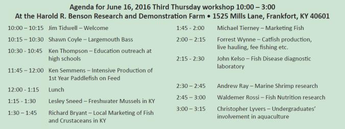 aquaculture-workshop-schedule