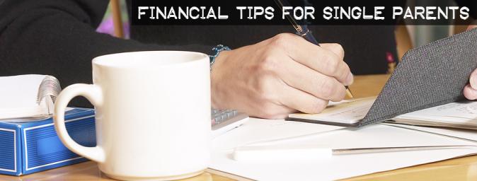 single parent finance tips