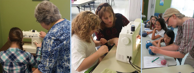 4-h sewing volunteers