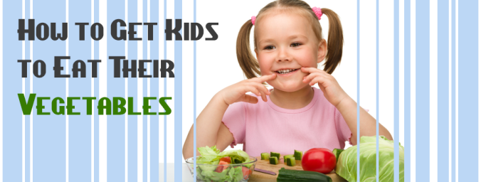 get kids eating veggies