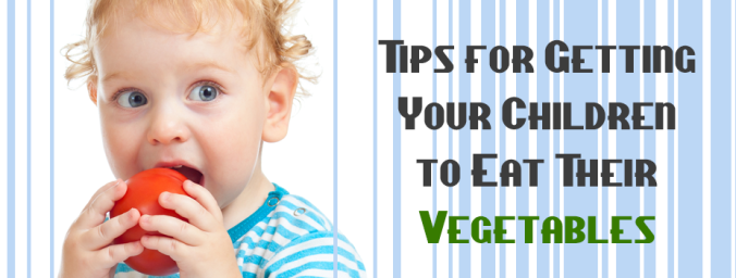 get your children to get their vegetables