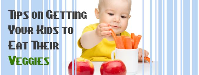 getting kids to eat veggies