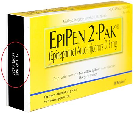 recalling epipens