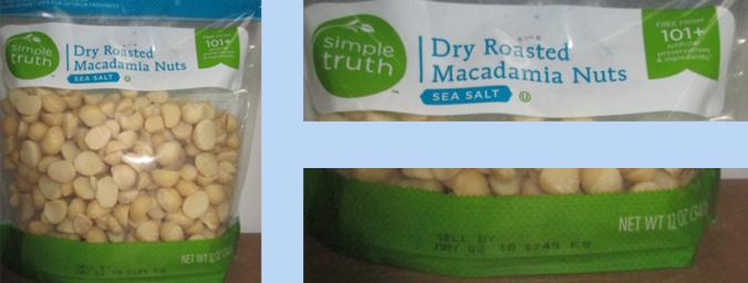 recalled macadamia nuts