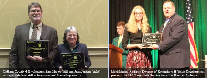 oc 4-H award winners