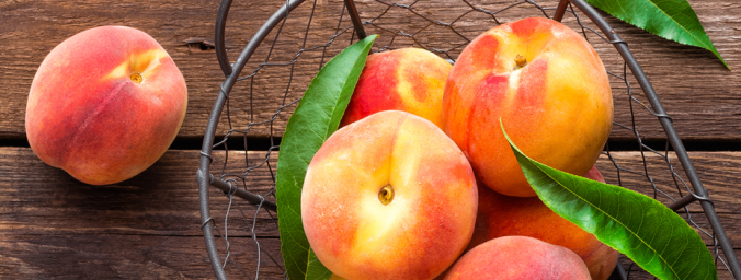healthy breakfast peach recipe