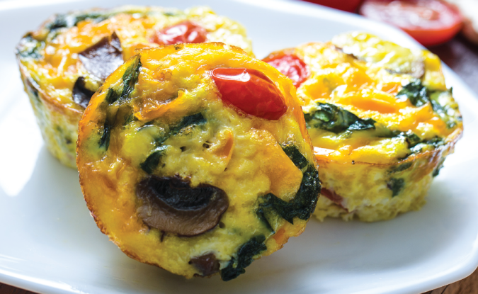 omelets on the go