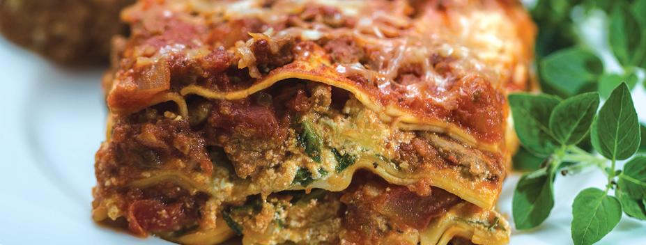 lighter lasagna recipe