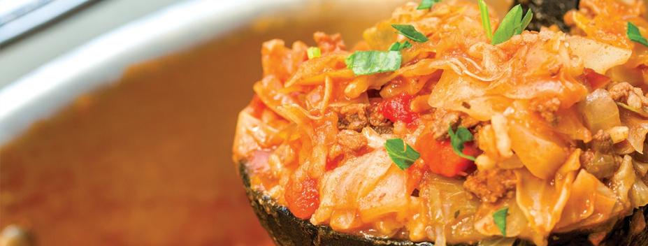 cabbage roll stew recipe